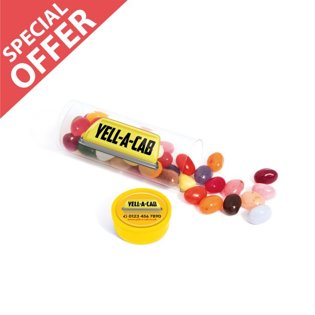 Special Offer – Clear Tube Midi – Jelly Bean Factory®