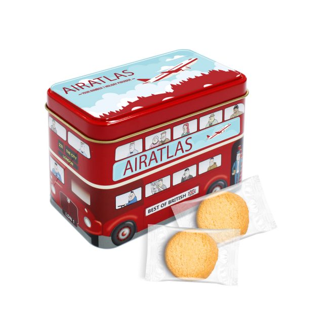 Bus Tin – Mini Shortbread Biscuits
