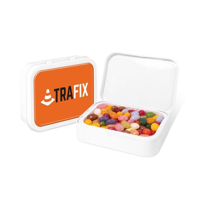 White Sweet Tin – Jelly Bean Factory®