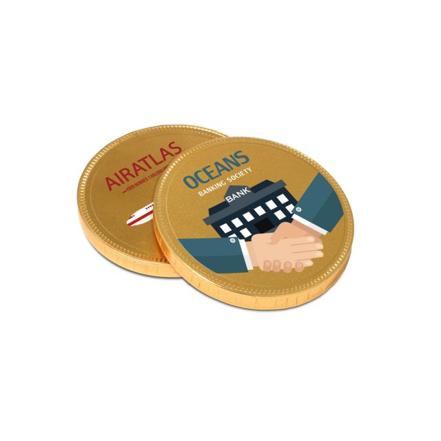 Special Offers – Chocolate Medallion – 55 mm