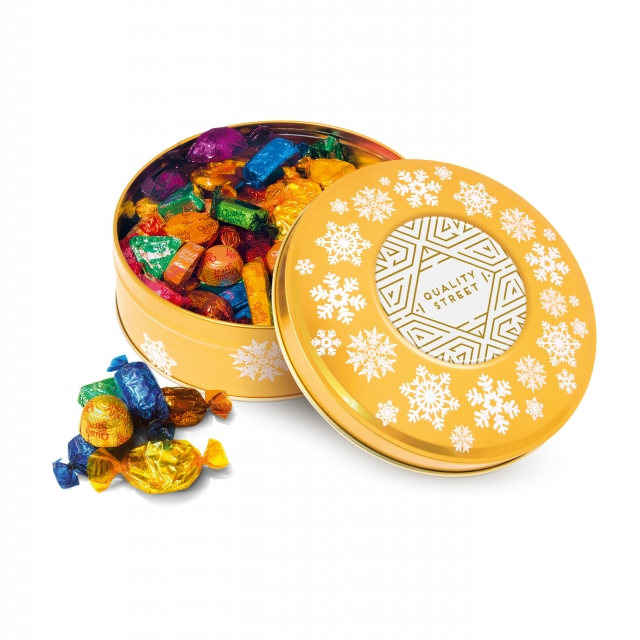 Winter Collection – Share Tin – Quality Street – Gold