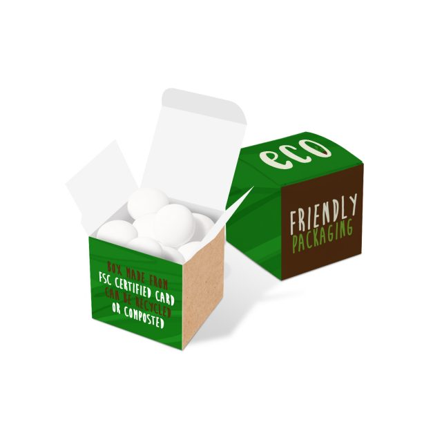 Eco Range – Eco Cube Box – Mint Imperials – COMING SOON
